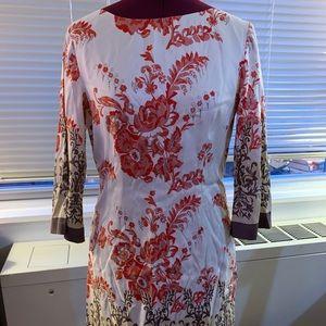Neiman Marcus Exclusive Silk Floral Dress